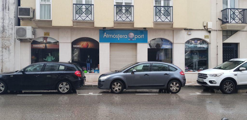 tienda atmosfera sport torredonjimeno