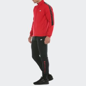 Chandal Curva Jhon Smith Negro/Rojo